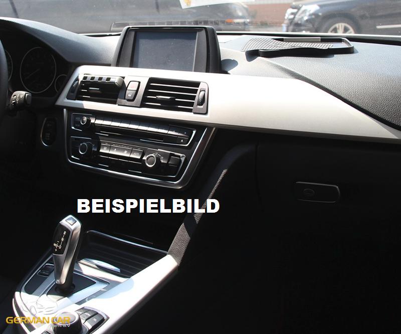 Für BMW 3er F30 und F31 Chromrahmen Blende Mittelkonsole